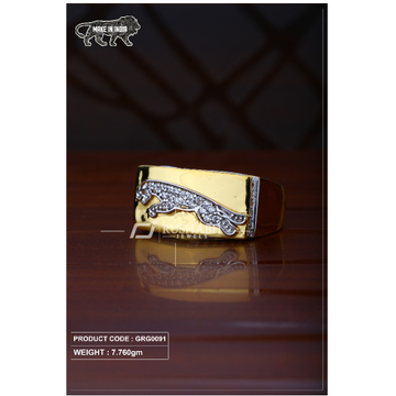 22 Carat 916 Gold Gents heavy ring grg0091