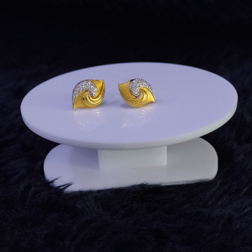 22KT/916 Yellow Gold Lyme Earrings For Women