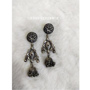 Silver designer latkan earring se-e004