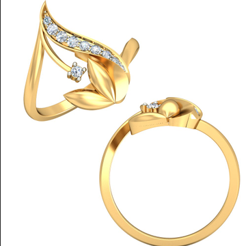 22KT Yellow Gold Colovian Ring For Women