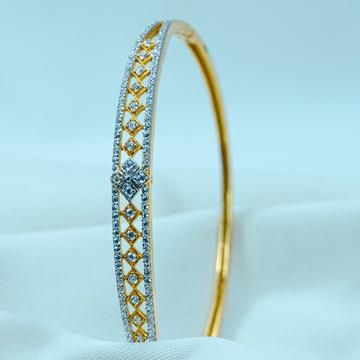 Gold diamond Bracelet lB-495 by