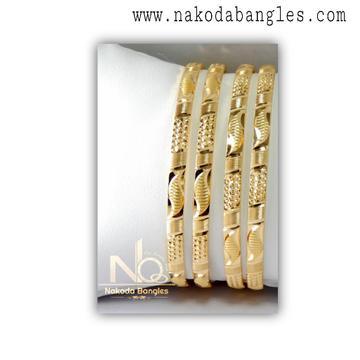 916 Gold CNC Bangles NB - 1327