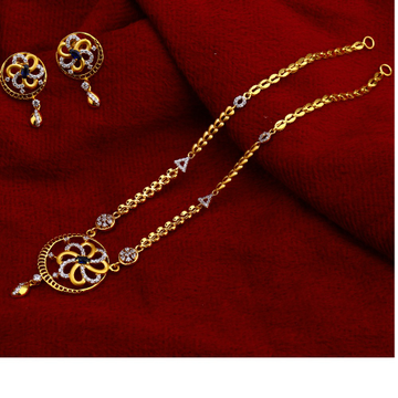 22ct Exclusive  Gold  Chain Necklace  CN157
