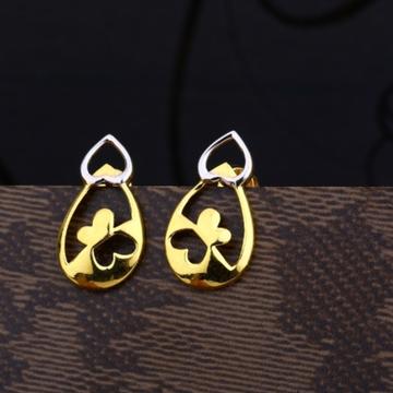 22 carat gold classical ladies earrings RH-LE478
