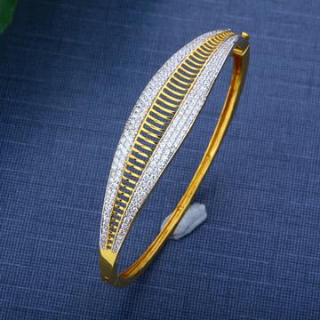 916 CZ Gold Designer Bracelet