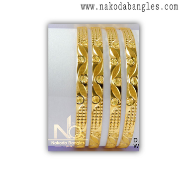 916 Gold Khilla Bangles NB - 1379