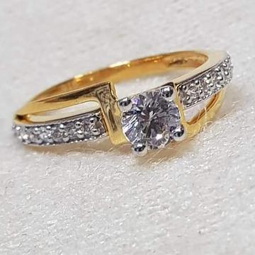 GOLD 22k/916 ladies diamond ring RH-GR344