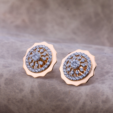 18kt Rose Gold Sophisticated Earring RE54