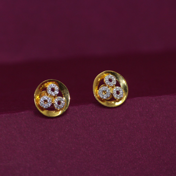 22KT Hallmarked Beautiful Earring by Simandhar Jewellers