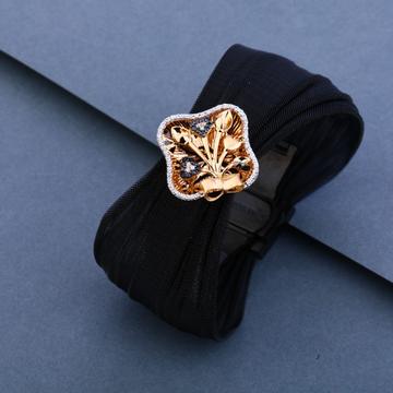 18ct Exclusive Leather Fancy Bracelet LLKB08