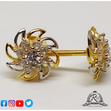 22 carat gold ladies earrings RH-ER562