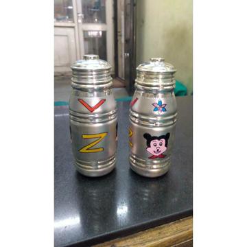 Cholel Nakshi Plastic Mina Joker Cartoon Milk & Water(Dudh,Pani) Bottel Ms-1344