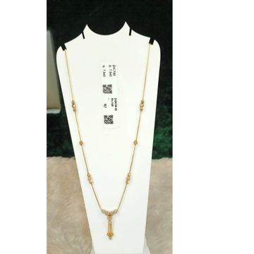 22KT Gold Attractive Pendant Chain