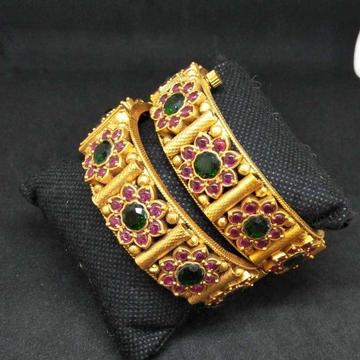 1 gram antique diamond bangle