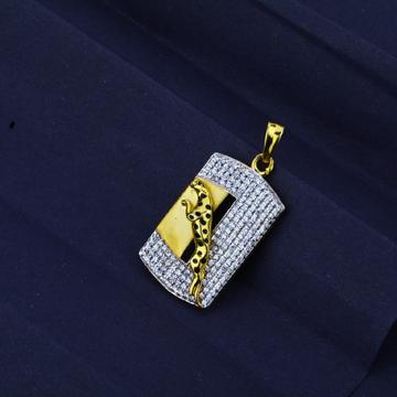 Men's Exclusive 916 Fancy Jaguar Gold Pendant- MFP01