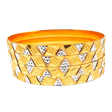 1 gram gold forming bangles mga - bge0288