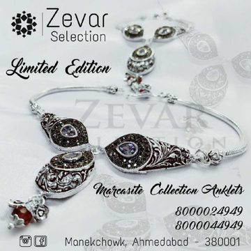 92.5 Silver Marcasite Pcs Payal