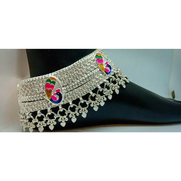 Heavy Peacock Payal For Wedding