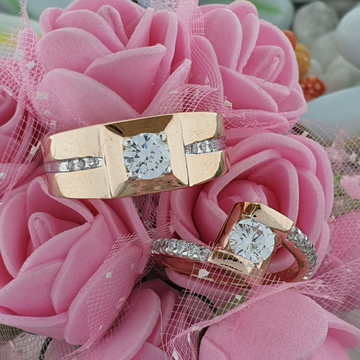 rose couple ring