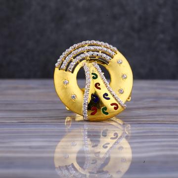916 Gold Classic Ring LLR111