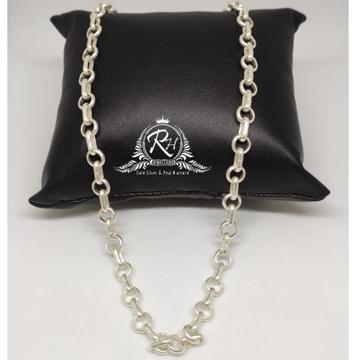 silver fancy gents chain RH-CH892
