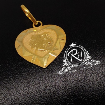 22 carat gold antic pendal RH-PL453