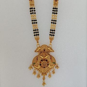 916 gold seni antique mangalsutra by Vinayak Gold