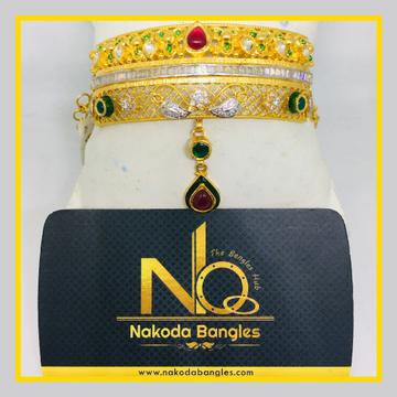 916 Gold Antique Bajubandh NB - 1025