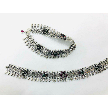 92.5 Sterling Silver Unique Look Ankket(Payal) Ms-... by
