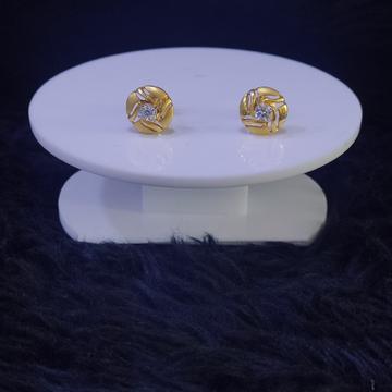 22KT/916 Yellow Gold Bertha Earrings For Women