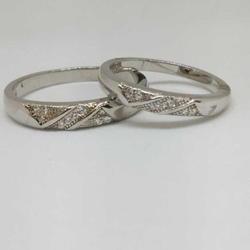 925 Sterling Silver Couple Bands