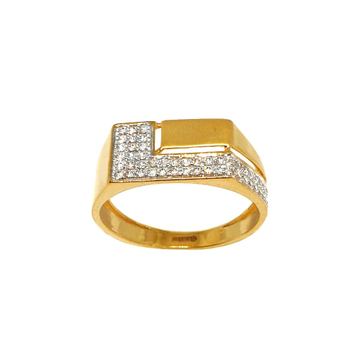 22K Gold Modern Gents Ring MGA - GRG0208
