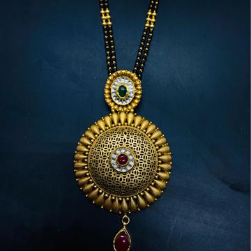 Jadtar Mangalsutra by Devika Art Jewellery