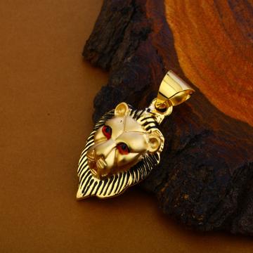 Lion Gold Fancy Pendant-HLP109
