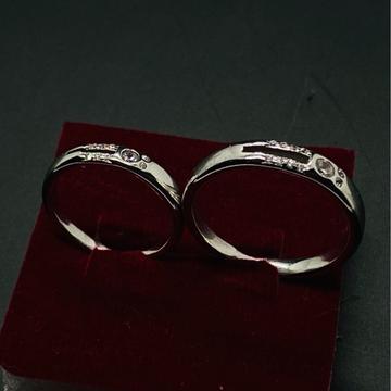 925 Couple Ring by Devika Art Jewellery
