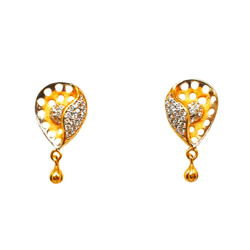 22K Gold Modern Earrings MGA - BTG0106