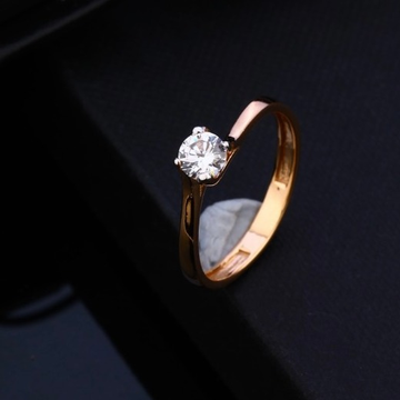 18KT Rose Gold Exclusive  Design Ring  by Gharena Jewellers