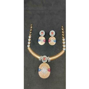 18k designer rose gold fancy set - 57518