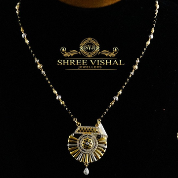916 gold antique mangalsutra mpg0296