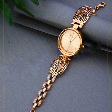 18KT Rose Gold ethically festival watch for ladies by
