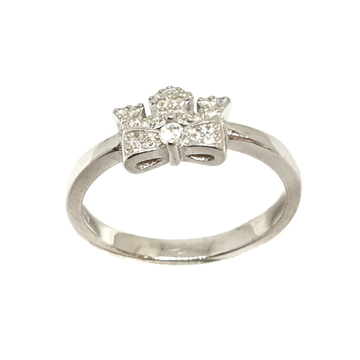925 Sterling Silver Queen Shaped Ring MGA - LRS3387