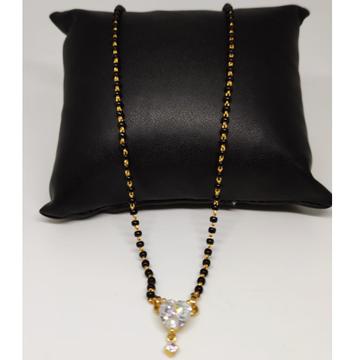 22 Carat gold antique ladies mangalsutra RH-LM982