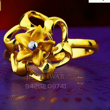 Wedding Special Plian Casting Ladies Ring LRG -0478