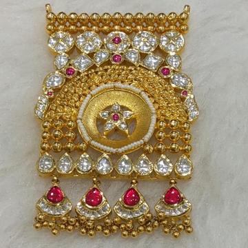 916 gold mangalsutra pendant jesalmeri