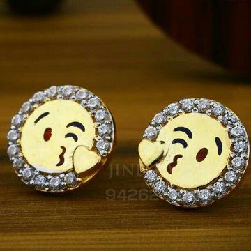 18kt Precious Emoji Shape Beby Tops ATG -0161