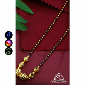22 Carat Gold Fancy Mangalsutra RH-LM714