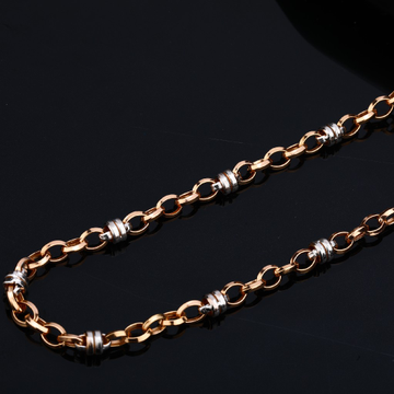 Mens Rose Gold 18K Chain-RMC38