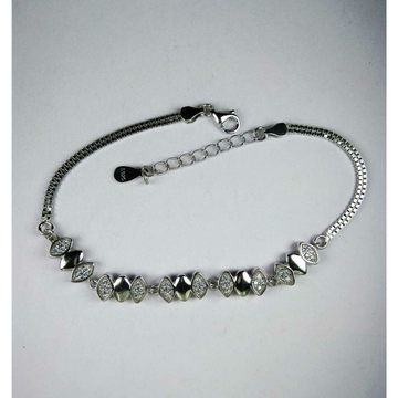Fancy 925 Silver Ladies With Pair Of Stones
