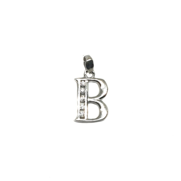 925 Sterling Silver Alphabet (Letter B) Pendant MGA - PDS0089