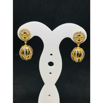 916 Ladies Fancy Gold Earring Er-60045